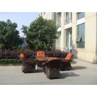 Buy cheap Supply Outdoor Patio Dining Set, Luxury Wicker Chair,Round Rattan Furniture, Manufacturer from wholesalers