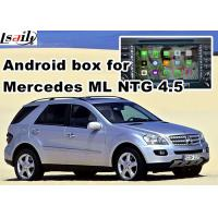 Buy cheap Android os car navigation box video interface for Mercedes benz ML mirrorlink web video music play from wholesalers