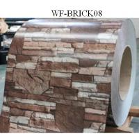 Buy cheap Durable PPGI Prepainted Steel Coil With Brick Patterned For Wall Panel from wholesalers
