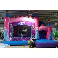 Buy cheap Children Inflatable Jumping Castle High Strength With Double Down Slides from wholesalers