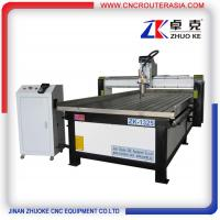 Buy cheap stainless steel water slot Metal Wood Engraving Machine with spindle temparature ZK-1325A from wholesalers