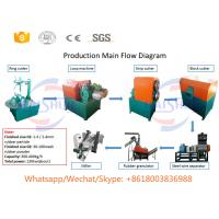 Buy cheap Small Waste Tyre Shredding Machine , Steel Cryogenic Tire Recycling Equipment from wholesalers