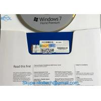 Buy cheap Retail Box Microsoft Windows 7 Professional OEM Key 32 / 64 BIT Activation Online Multi Language from wholesalers