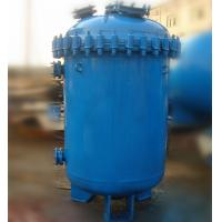 Buy cheap 500L Carbon Steel Glass Lined Vessel , K Type / F Type Jacketed Reactor Vessel from wholesalers