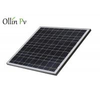 Buy cheap 12V PV Solar Panels Well - Proportioned Navy Blue Silicon Nitride Anti - Reflection from wholesalers