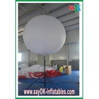 Buy cheap Showing Inflatable Stand Ball 190T Nylon Cloth With Logo Printing from wholesalers