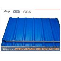 Buy cheap 1.2M Width 5M Length Steel Corrugated Sheets Galvanized Corrugated Roofing Sheets from wholesalers