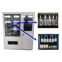 Buy cheap Hotel Lobby Commerical Mini Mart Vending Machine with Innovative Adjustable Channel from wholesalers