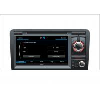 Buy cheap Touch screen car dvd player for Audi A3 with gps navigation system from wholesalers
