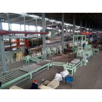 China Building Material Mineral Wool Sandwich Panel Line For Ceiling Board on sale