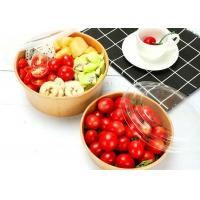 Buy cheap Disposable Takeaway Recyclable Paper Salad Bowls Environmentally Friendly from wholesalers