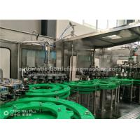 Buy cheap Fruit Juice Making Machine , Flavour Water Hot Filling Bottling Plant product