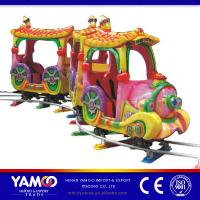 Buy cheap Amusement Park outdoor track train/kiddie mini train with CE approve from wholesalers