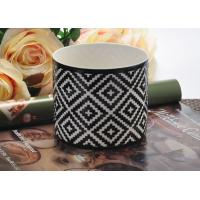 Buy cheap Fashion black Ceramic Candle Holder , ceramic candlestick holders from wholesalers