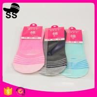 Buy cheap 2017  Polyester  95% Spandex5% 28g 24cm Wholesale Summer Cotton Sweat-absorbent Invisible Winter Boat Socks from wholesalers