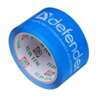 Buy cheap Blue Printed Packaging Tape Water Activated Durable Viscosity 48mic from wholesalers