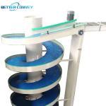 Buy cheap Vertical Lifting Flexible Screw Elevator Feeder Spiral Elevator Belt Conveyor from wholesalers