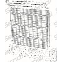 Buy cheap Welded Fence With Barbed Wire Type from wholesalers