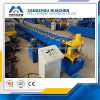 Buy cheap High Performance Door Frame Roll Forming Machine PLC Control With Hydraulic Cutting from wholesalers