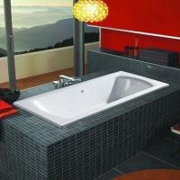 Buy cheap Acrylic Plain Bathtub, without Skirt and Any Function, Measuring 1,800 x 800 x 450mm from wholesalers