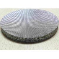 Buy cheap FeCrAl Stainless Sintered Mesh Screen  Filter Disc For Hydraulic Oil Filter from wholesalers