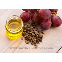 Buy cheap Yellow Oild Liquid Grapeseed Oil For Cooking Cosmetics And Dissolved Steroid from wholesalers