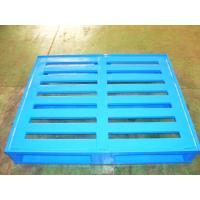 Buy cheap Durable Economical Powder Coating Steel Pallets With Four Way Entry from wholesalers