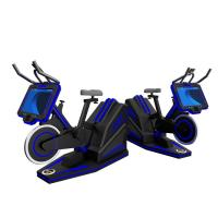 Buy cheap Gym Equipment VR Exercise Bike Simulator / 9d Virtual Reality Simulator from wholesalers
