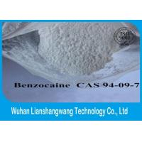 Buy cheap 99% Purity White Local Anesthetic Drugs Raw Benzocaine Powder CAS 94-09-7 from wholesalers