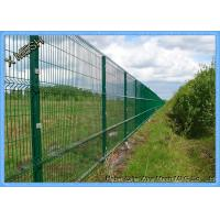 Buy cheap Pvc Coated Wire Mesh Fence Panels , Metal Wire Fence Mesh Size 50*200mm from wholesalers