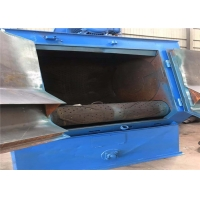 Buy cheap Stainless steel pipe fittings shot blasting machine from wholesalers