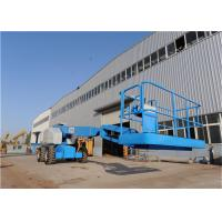 Buy cheap Boom Rotation 360° Electric Articulating Boom Lift Multiple Functions Fast Pacing Speed from wholesalers