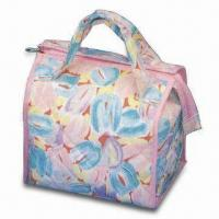 Buy cheap Quilt Cotton Fabric Bag with T/C Fabric Lining and Floral Pattern from wholesalers