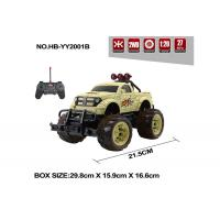Buy cheap Multi Color Children's Remote Control Toys Bigfoot RC Jeep 27MHz  Frequency from wholesalers