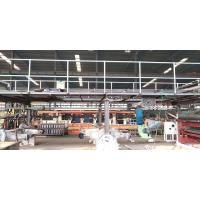 Buy cheap Semi Automatic 3 Layer Corrugated Cardboard Production Line / Manufacturing Machine from wholesalers