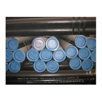 Buy cheap Black Painted Seamless Carbon Steel Pipe Cold Drawn / Hot Rolled ASTM GB A53 A106 from wholesalers
