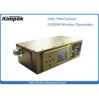 75ms Latency Cofdm Video Transmission 300-900Mhz Manpack COFDM Modulation