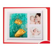 Buy cheap Newborn Baby Handkerchief Clone Powder Baby Hand And Foot Ink 3D Souvenir Gift from wholesalers