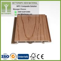 Buy cheap Hot Sales China Manufacturer Wall Panel Wood Plastic Composite Cladding WPC External Wall Cladding from wholesalers