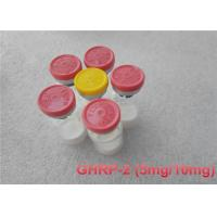 Buy cheap High Purity Muscle Building Peptides GHRP - 2 , Injectable Peptides Bodybuilding CAS 158861-67-7 from wholesalers