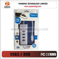 Buy cheap type c usb hub for tablet mobile phone hard disk from wholesalers