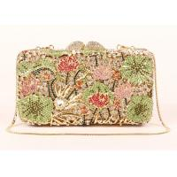 Buy cheap Rhinestone Novelty New Look Clutch Bags , Top Grade Crystal Beaded Clutch Bag from wholesalers