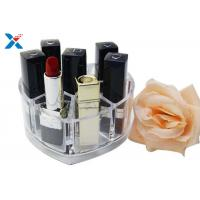 Buy cheap Makeup Organizer Acrylic Box , Clear Acrylic Lipstick Organizer For Brushes / Skincare product