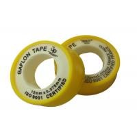 China Anti - corrosion Colorful Unsintered PTFE Gasket Tape , 6 - 50m Length on sale