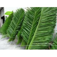 Buy cheap GNW APM095 Artificial Coconut Tree Leaves outdoor landscaping green plam from wholesalers
