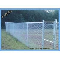Buy cheap Hot Dipped Galvanized 6x10 Ft 9 Gauge Colored Chain Link Fence Fabric For Basketball Sports from wholesalers