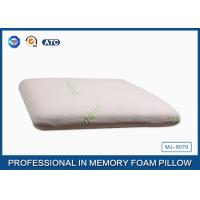 Buy cheap Sound Sleep Neck Pain Traditional Memory Foam Pillow Bamboo Fiber Cover from wholesalers