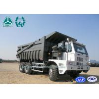 Buy cheap 70 Ton Left Hand Driving 6 X 4 Howo Mine Dump Truck 8460*3200*3475 from wholesalers