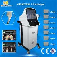 Buy cheap 2016 vertical Anti-age face HIFU body slimming HIFU face lift machine from wholesalers