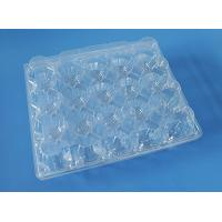Buy cheap plastic quail egg tray,24 holes clear plastic quail egg tray,PVC/PET quail egg tray from wholesalers